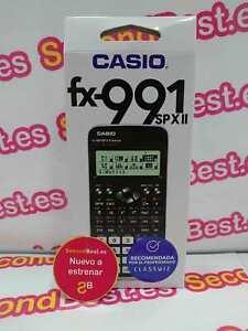 Calculadora Científica Casio fx-991 SPX II Nuevo