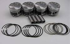 "Nippon Racing JDM ITR USDM P73 Pistons NPR Rings B18C1 GSR 82mm .040"" Over"