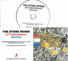 THE STONE ROSES 20th Anniversary EPK promo DVD