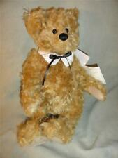 """Vintage Dean's Rag Book Co Lim Ed Wendall Yes / No Bear Mohair Jointed 14"""" New"""