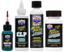 Lucas Extreme Gun Oil 1oz Needle Oiler & 4oz Clp, Metal Polish, Bore Solvent