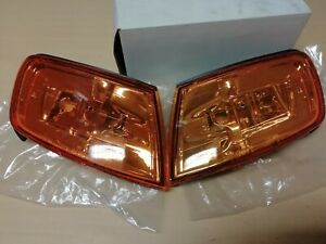 Honda Accord 1994-1997 JDM Amber Corner Light Turn Indicator Set / Pair