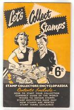 10266- Handbook Let's collect stamps about '50s edition by Arthur D.Stansfield .