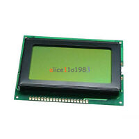 5V 12864 LCD Display Module 128x64 Dots Graphic Matrix Yellow green Backlight