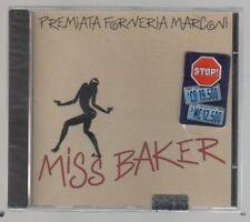 PREMIATA FORNERIA MARCONI P.F.M. MISS BAKER  PFM CD F.C. MADE IN ITALY SIGILLATO