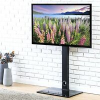 Floor Universal TV Stand With Swivel Mount For 26-55 inch Flat Screen TV