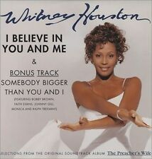 I Believe in You and Me [Maxi Single] by Whitney Houston (CD, Dec-1996, Arista)