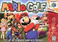 ✅ Mario Golf Nintendo 64 N64 Video Game Cart Retro Kids Party Super Fun Rare ⛳️