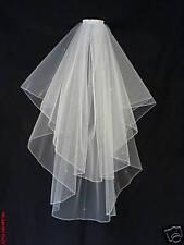 Wedding Veil / Bridal Veils Ivory made with Swarovski Diamante
