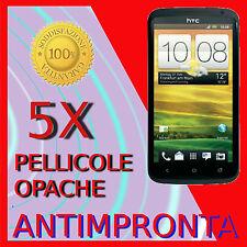 5 Pellicola Per HTC One S Opaca Proteggi LCD Antiriflesso Pellicole Antimpronta