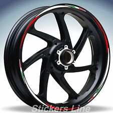 Adesivi ruote moto strisce cerchi HONDA CBR 600 RR Racing 4 wheel stickers