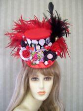Mini Top Hat, Alice in Wonderland Hat, Halloween Hat, Cosplay, Comic Con, Tea
