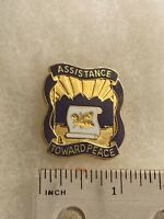 Authentic US Army 399th Civil Affairs Group Unit DI DUI Crest Insignia G23