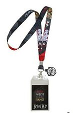 RWBY Character Lanyard Neckstrap With Charm & Stickers
