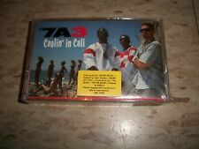THE 7A3 Coolin' In Cali  SEALED tape Cassette RARE!! Hip Hop  1988