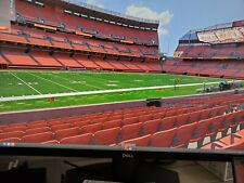 2 Cleveland Browns vs Denver Broncos Tickets - Section 130 Row 5 10/21/21