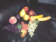 12 Pieces of Artificial Fake Fruit - Home Decor Quality