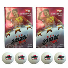 12x DHS 3 Star 40mm Table Tennis Ping Pong Competition Balls White Free Postage