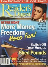 Reader's Digest Magazine July 2003 Elvis Presley 080817nonjhe