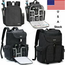 D6 M8 Black Camera Bag Backpack with Tripod Holder For Canon Nikon Sony SLR