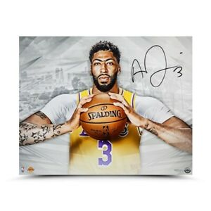 "Anthony Davis Signed Autographed 16X20 Photo ""A New Era"" Los Angeles Lakers UDA"
