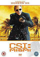 CSI MIAMI COMPLETE SERIES 9 DVD All Episdoes C.S.I. Ninth Season Original UK R2