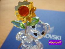 1fa0c88bc SWAROVSKI CRYSTAL - Kris Bear - Especially For You Sunflower - RETIRED  842934