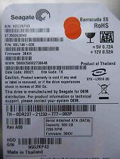 500 GB Seagate ST3500630NS / 9BL146-036 / 3BKH / TK - disque dur / harde schijf