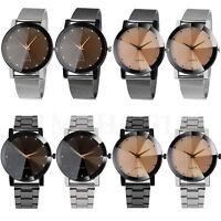 Luxury Mens Watch Military Stainless Steel Sport Dial Analog Quartz Wrist Watch