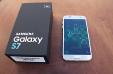 Samsung Galaxy S7 32GB Mobile Phone Silver (Unlocked) Boxed