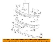 GM OEM Rear Bumper-Bumper Cover Retainer 11519444