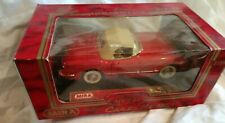 MIRA collection. 1954 Red Chevrolet Corvette  1/18. Convertible.