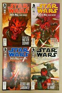 4x DARTH MAUL: DEATH SENTENCE 1-4 SET TOM TAYLOR DARK HORSE COMICS