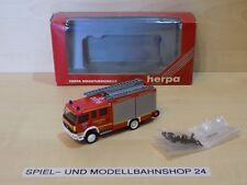 "Herpa 045308, MB Atego, ""Feuerwehr Düsseldorf"" LF 16/12, Neuw. Vitrinenm. OVP"