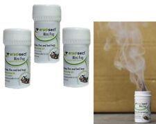 3 SMOKE INSECT PEST CONTROL BOMB COCKROACH ANT MOTH FLEA BED BUG FLY WASP KILLER