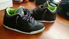 Jordan III 3 Joker Size 12 Black Green Purple