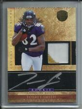 Torrey Smith 2011 Gold Standard Autograph Game Jersey Patch Rookie #355/525