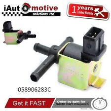 AUDI VW SEAT TURBO BOOST PRESSURE CONTROL SOLENOID N75 VALVE 058906283C 1.8T