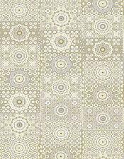 1 Blatt DecoPatch Papier Nr. 638, weiß grau Kreise Muster Bastelpapier Decoupage