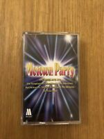 MoTown Party - THE TEMPTATIONS~ Dianna Ross - Smokey Robinson - CASSETTE Tape