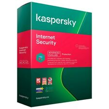 KASPERSKY INTERNET SECURITY 2021 | 1 PC 1 YEAR | GLOBAL KEY
