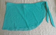 Women's Aqua Blue Bathing Suit Cover up Joe Boxer Size XL