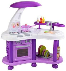 Little Big Town Childrens Kids Electronic Kitchen Pretend Play Centre Household