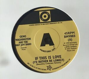 Demo - If This Is Love (I'd Rather Be Lonely) - Geno Washington And Ram Jam Band