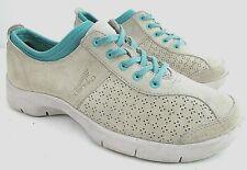 DANSKO Elise US Women US 8.5 - 9 M EU 39 Gray Teal Suede Comfort Athletic Shoes