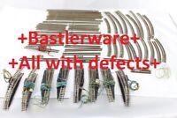Konvolut 50 Gleise + 8 Weichen Märklin Spur Z +Bastlerware+ all with defects