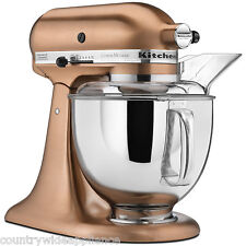 KitchenAid 5qt Custome Metallic Series Stand Mixer Satin Copper KSM152PSCP