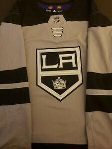 Adidas Los Angeles Kings NHL Climalite Authentic Alternate Hockey Jersey Size 56
