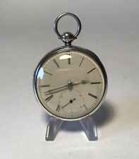 1859 Liverpool Solid Silver Fusee Pocket Watch Good Working Order. Chester Case