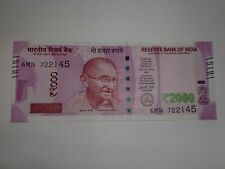 -India Paper Money- One New Design 'M.Gandhi' Currency Note-2017- Rs.2000/- # Ef